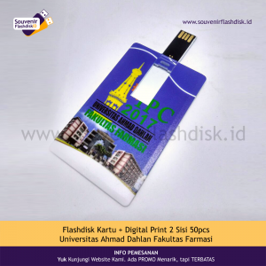 Flashdisk Kartu Universitas Ahmad Dahlan 50pcs
